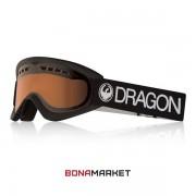Dragon маска DX Black lumalens amber