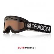 Dragon маска DX Black lumalens silver ion