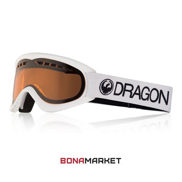 Dragon маска DX White lumalens amber