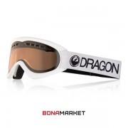 Dragon маска DX White lumalens silver ion