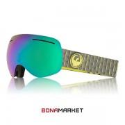 Dragon маска X1 Amp lumalens green ion