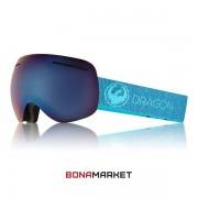 Dragon маска X1 Mill lumalens blue ion