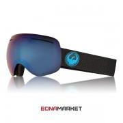 Dragon маска X1 Split lumalens blue ion