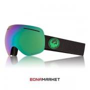 Dragon маска X1 Split lumalens green ion