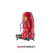Deuter рюкзак Aircontact Pro 55+15 SL cranberry-fire