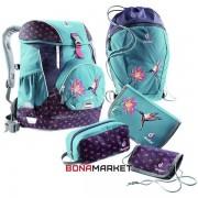 Deuter школьный набор OneTwo Set - Sneaker Bag petrol bird
