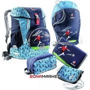 Deuter школьный набор OneTwo Set - Sneaker Bag navy soccer