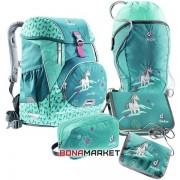 Deuter школьный набор OneTwo Set - Sneaker Bag petrol horse