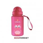 Little Life фляга Water Bottle 0.4 L owl