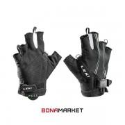 Leki перчатки Nordic Lite Shark Short black-neongreen-white, размер 10