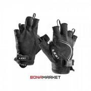 Leki перчатки Nordic Lite Shark Short black-white, размер 8