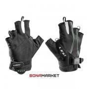 Leki перчатки Nordic Lite Shark Short black-neongreen-white, размер 9