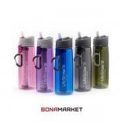 LifeStraw фляга с фильтром для воды Go 2-stage pink