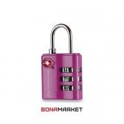 Lifeventure замок TSA Combi Lock pink