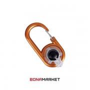 Munkees 1078 брелок-фонарик Carabiner LED