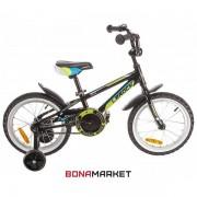 Lerock велосипед RX16 Boy black-red