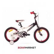 Romet велосипед Salto 16 black-white