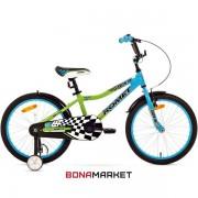 Romet велосипед Salto 20 blue-green