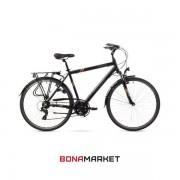 Romet велосипед Wagant 1.0 black, рама 19 дюймов