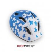 Met шлем Buddy white-blue, размер 46-53
