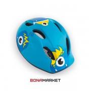 Met шлем Super Buddy monsters blue, размер 52-57