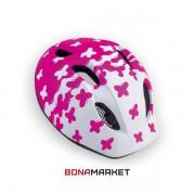 Met шлем Super Buddy pink butterflies