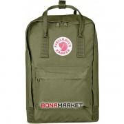 Fjallraven рюкзак Kanken Laptop 15 green